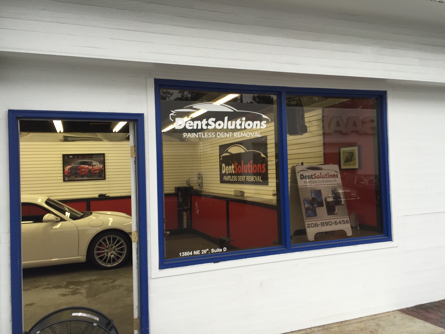 store front dent solutions